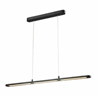 ELK 50003-LED Lino Modern Matte Black LED Kitchen Island Light Fixture