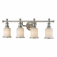 ELK 52003-4 Acadia Brushed Nickel 4-Light Vanity Light