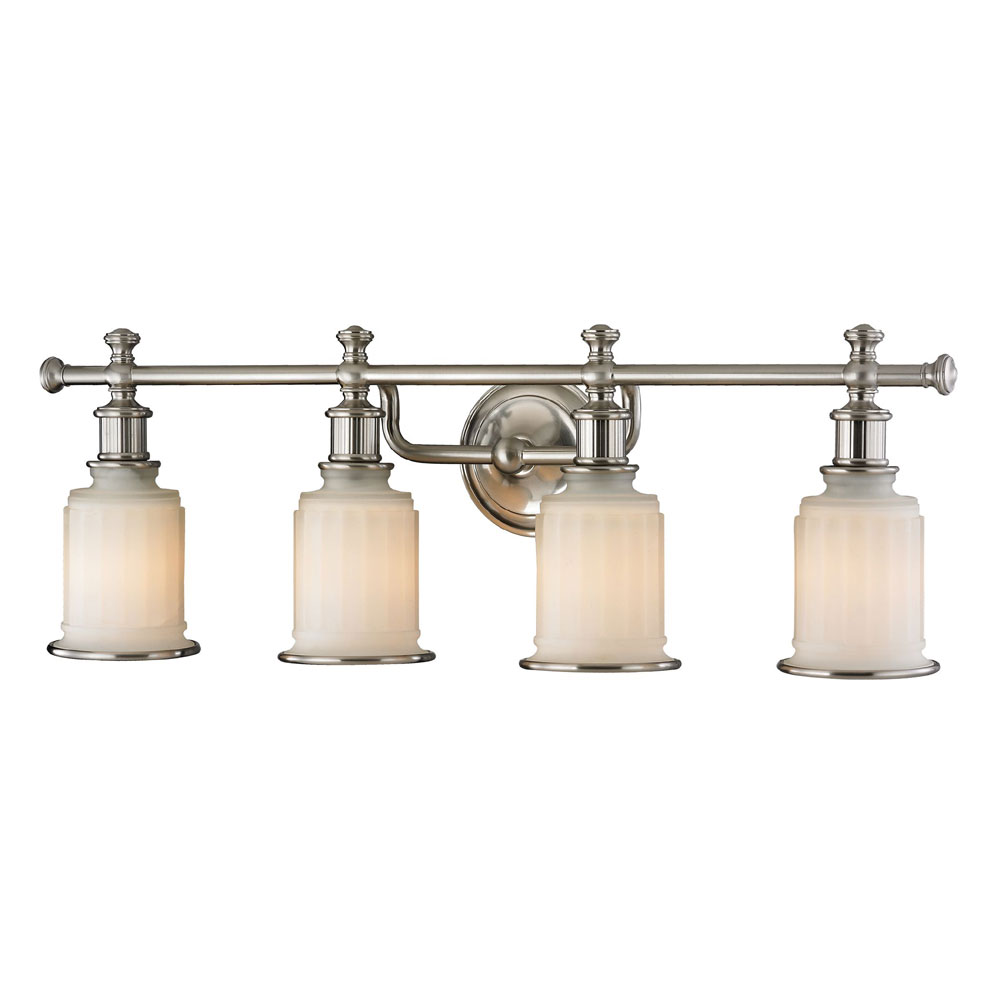 ELK 520034 Acadia Brushed Nickel 4Light Vanity Light  ELK520034