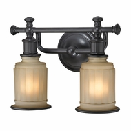 ELK 52011-2 Acadia Oil Rubbed Bronze 2-Light Bath Light Fixture