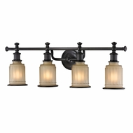 ELK 52013-4 Acadia Oil Rubbed Bronze 4-Light Bathroom Light Fixture