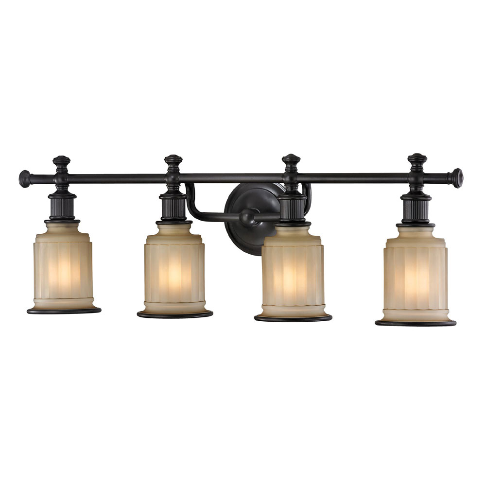 ELK 52013-4 Acadia Oil Rubbed Bronze 4-Light Bathroom ...