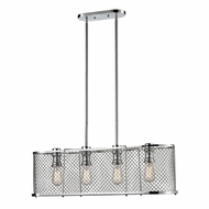ELK 55003-4 Brisbane Modern Polished Chrome Kitchen Island Light