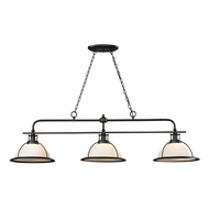ELK 55047-3 Wilmington Modern Oil Rubbed Bronze Kitchen Island Light Fixture