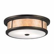 ELK 70193-2 Annondale Modern Tiffany Bronze Flush Mount Lighting
