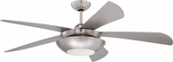 Ellington CEN54BNK5 Centric Contemporary Brushed Polished Nickel 54  Ceiling Fan