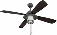 Ellington MR56AGV4C1 Morrow Bay Nautical Aged Galvanized Indoor / Outdoor 56  Home Ceiling Fan
