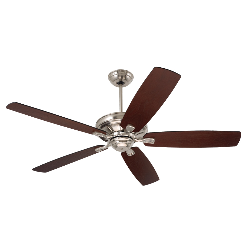 Emerson Ceiling Fans CF784BS Carrera Brushed Steel 60
