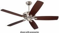 Emerson Ceiling Fans CF788BS Carrera Grande Eco Brushed Steel Indoor / Outdoor Ceiling Fan