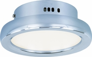 ET2 E21141-01PC Timbale Contemporary Polished Chrome LED Ceiling Light Fixture