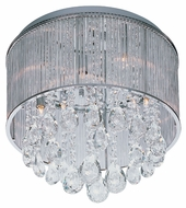 ET2 E22293-18PC Gala Polished Chrome Finish 16.5  Wide Xenon Ceiling Lighting