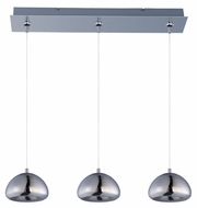 ET2 E22525-81PC Vive Modern Polished Chrome Finish 24.25  Wide LED Island Light Fixture