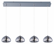 ET2 E22527-81PC Vive Modern Polished Chrome Finish 34.5  Wide LED Kitchen Island Light Fixture