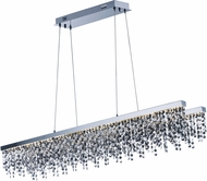 ET2 E23098-138PC Midnight Shower Modern Polished Chrome LED Island Lighting