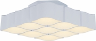 ET2 E24122-MW Billow Contemporary Matte White LED Ceiling Lighting Fixture