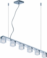 ET2 E32034-18PC Blocs Contemporary Polished Chrome LED Island Lighting