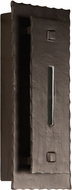 Exteriors Z1732-15-LED Bristol LED Contemporary Aged Iron Exterior LED Wall Light Sconce