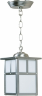 Exteriors Z1841-56 Mission Craftsman Stainless Steel Exterior Pendant Hanging Light