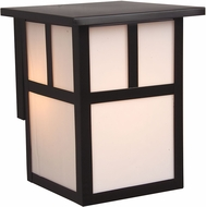 Exteriors Z1842-7 Mission Craftsman Burnished Copper Outdoor Small Lighting Sconce