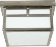 Exteriors Z1843-56 Mission Craftsman Stainless Steel Exterior Flush Lighting