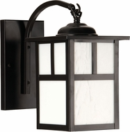 Exteriors Z1844-7 Mission Craftsman Burnished Copper Outdoor Small Wall Sconce Lighting