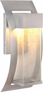 Exteriors Z2524-19-LED Ontario LED Modern Brushed Titanium Outdoor Large Wall Light Sconce