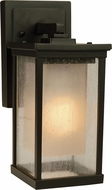 Exteriors Z3704-92 Riviera Contemporary Oiled Bronze Exterior Small Wall Sconce Lighting