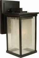Exteriors Z3724-92 Riviera Modern Oiled Bronze Outdoor Large Wall Light Sconce
