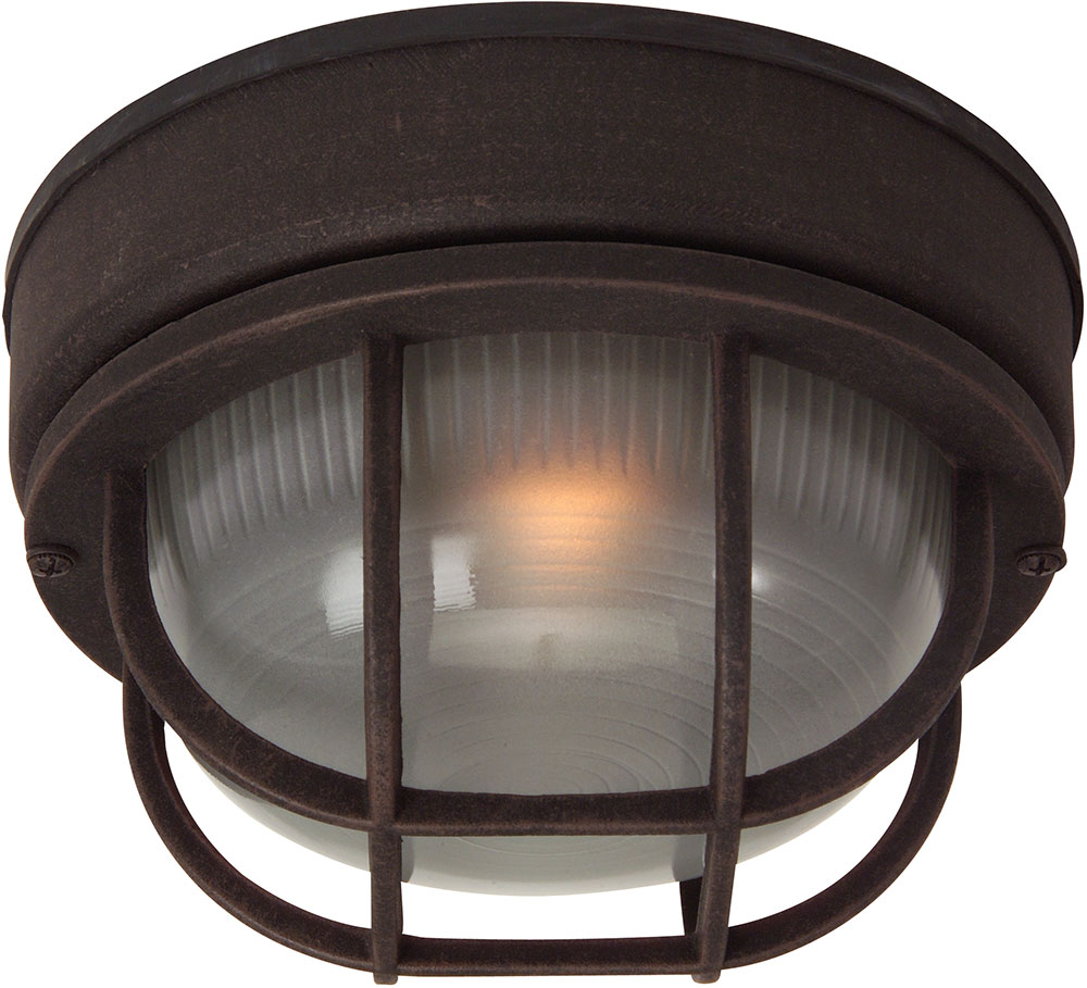 Exteriors z394 07 bulkhead rust exterior small ceiling - Small ceiling light fixtures ...