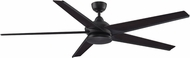 Fanimation Fans FPD6236DZ Subtle Modern Dark Bronze LED Indoor / Outdoor 72  Ceiling Fan Fixture