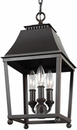 Feiss F3088-3DAC-AC Galloway Dark Antique Copper / Antique Copper Foyer Light Fixture