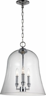 Feiss F3154-3CH Lawler Chrome Entryway Light Fixture