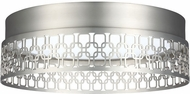 Feiss FM500SN-LED Amani Modern Satin Nickel LED Ceiling Light Fixture