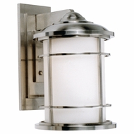 Feiss OL2202BS Lighthouse Nautical Brushed Steel Exterior Wall Lamp