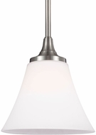 Feiss P1413SN Hamlet Satin Nickel Mini Pendant Hanging Light