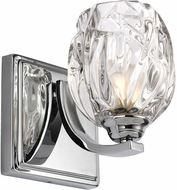 Feiss VS22701CH Kalli Chrome Fluorescent Wall Lighting Sconce