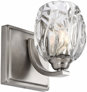 Feiss VS22701SN Kalli Satin Nickel Fluorescent Wall Sconce Lighting