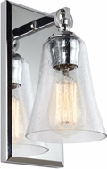 Feiss VS24701CH Monterro Chrome Wall Sconce Light