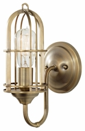 Feiss WB1703DAB Urban Renewal Short 6 Inch Wall Lighting - Dark Antique Brass