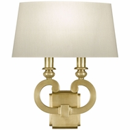 Fine Art Lamps 210750-2 Grosvenor Square Antique Brass Finish 16  Tall Wall Lamp