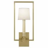 Fine Art Lamps 211250-2 Grosvenor Square Antique Brass Finish 20  Tall Sconce Lighting