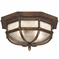Fine Art Lamps 845282 Holland Park Traditional Antique Bronze Finish 9  Tall Exterior Ceiling Light