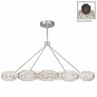 Fine Art Lamps 875940-31ST Allison Paladino Contemporary Patinated Bronze LED Ceiling Pendant Light