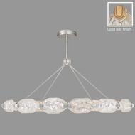 Fine Art Lamps 876140-21ST Allison Paladino Contemporary Gold Leaf LED Drop Lighting Fixture