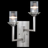 Fine Art Lamps 878750-1ST Neuilly Silver Leaf Wall Sconce Lighting