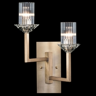Fine Art Lamps 878850-2ST Neuilly Soft Gold Leaf Wall Light Sconce