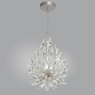 Fine Art Lamps 881640ST Lily Buds Silver Leaf Lighting Pendant