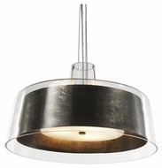 Philips FC0024047 Bari 20 Inch Diameter Natural Steel 3 Lamp Lighting Pendant