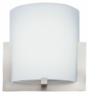 Forecast FL0001836 Bow Large 12 Inch Wide Satin Nickel Wall Light Sconce