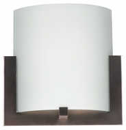 Philips FL0001870 Bow Large Merlot Bronze Finish Transitional Wall Lighting - 12 Inches Wide